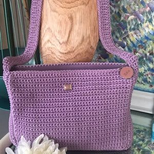 THE SAK, never used, knit, light purple bag